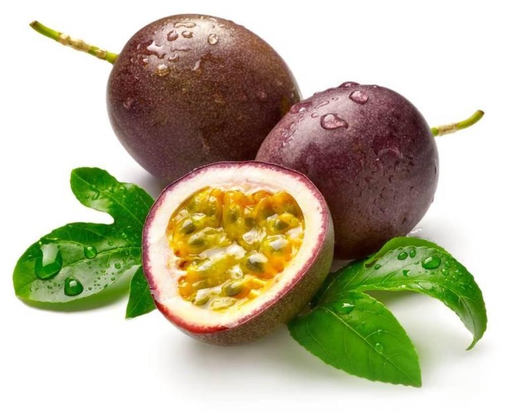 Экзотические фрукты Шри-Ланки маракуйя