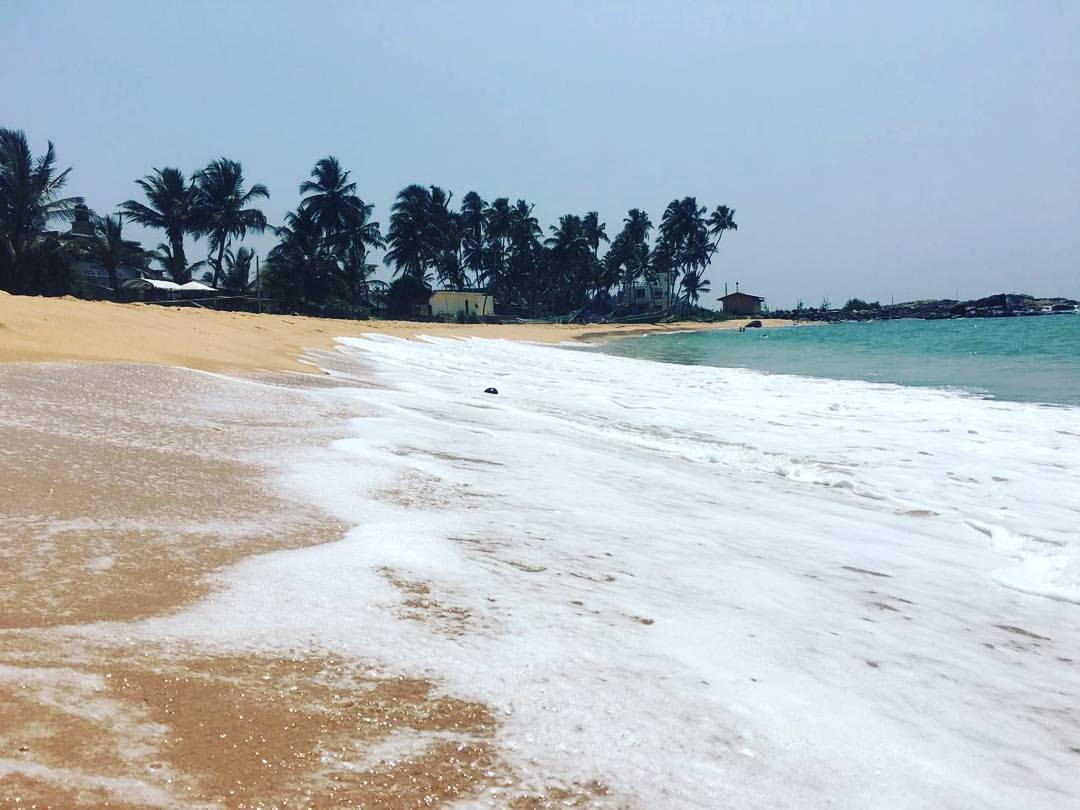 hikkaduwa beach.