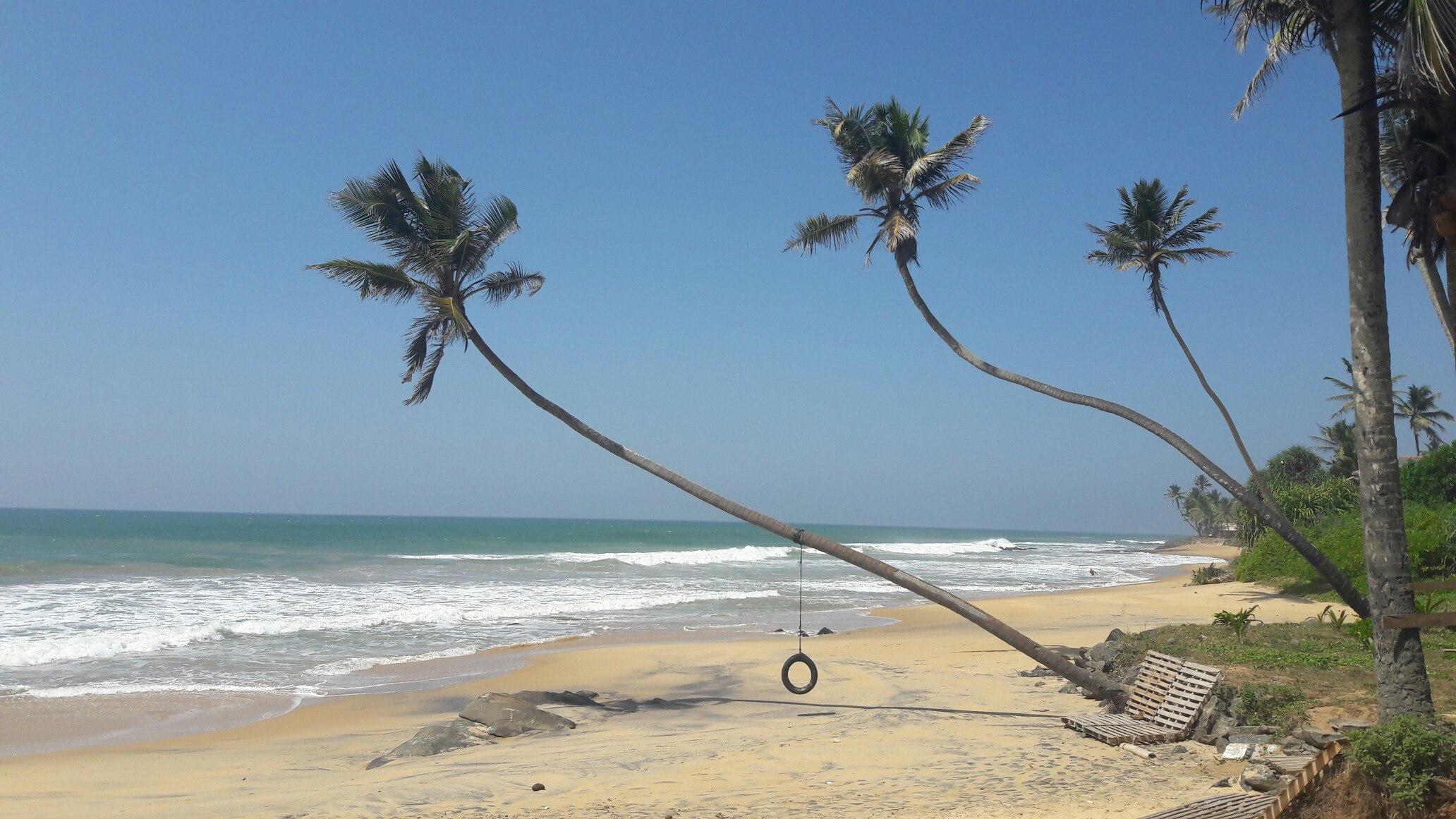 Хиккадува фото пляж