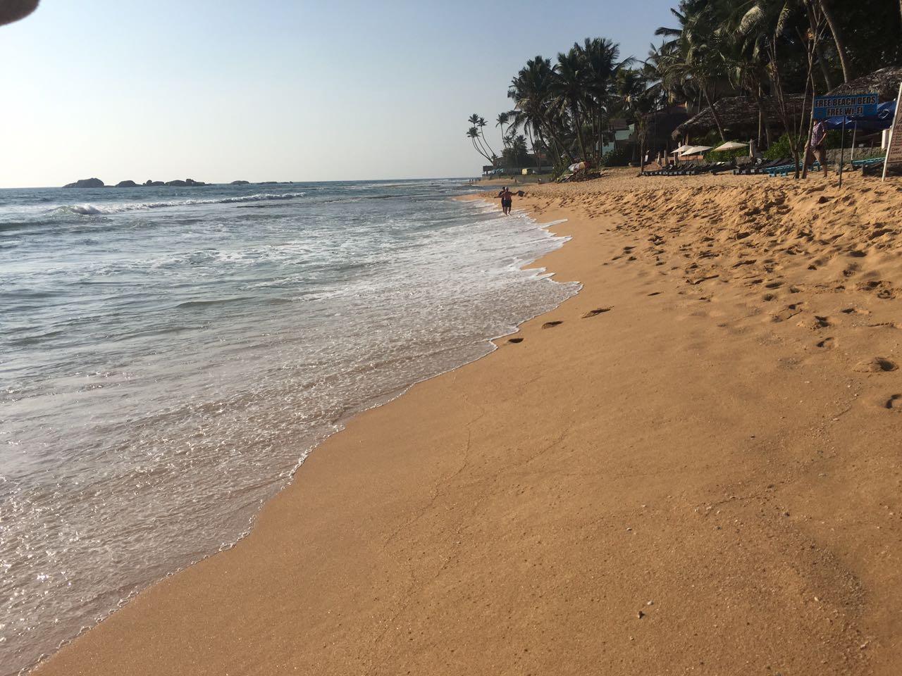 Пляж Хиккадува Шри-Ланка
