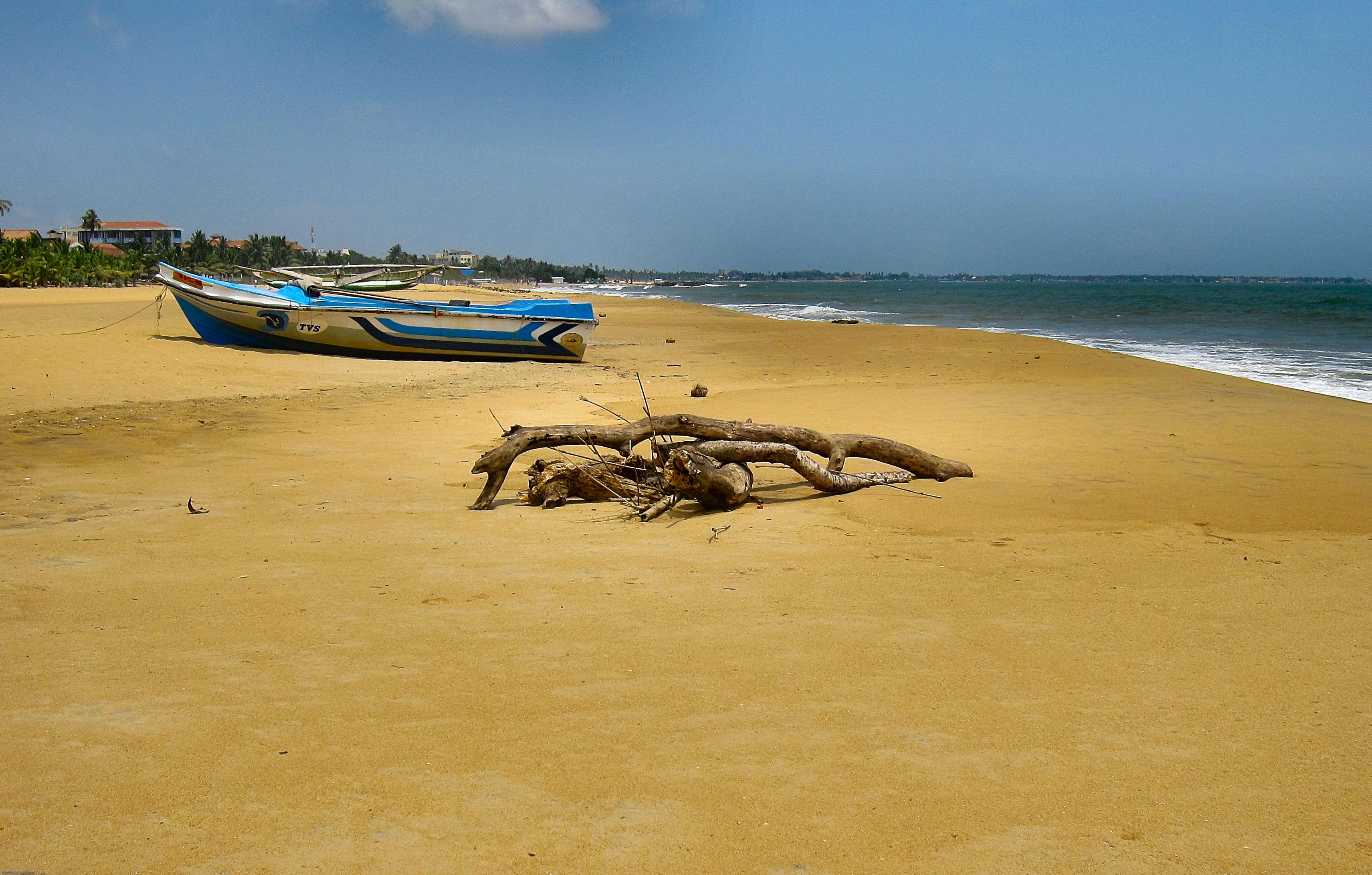 Пляж Негомбо Шри Ланка