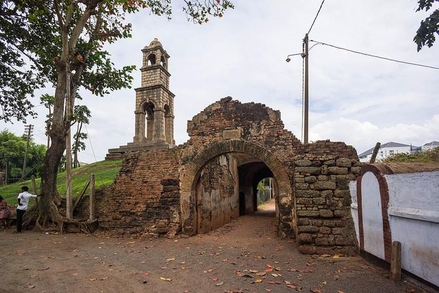 Форт Негомбо Шри Ланка