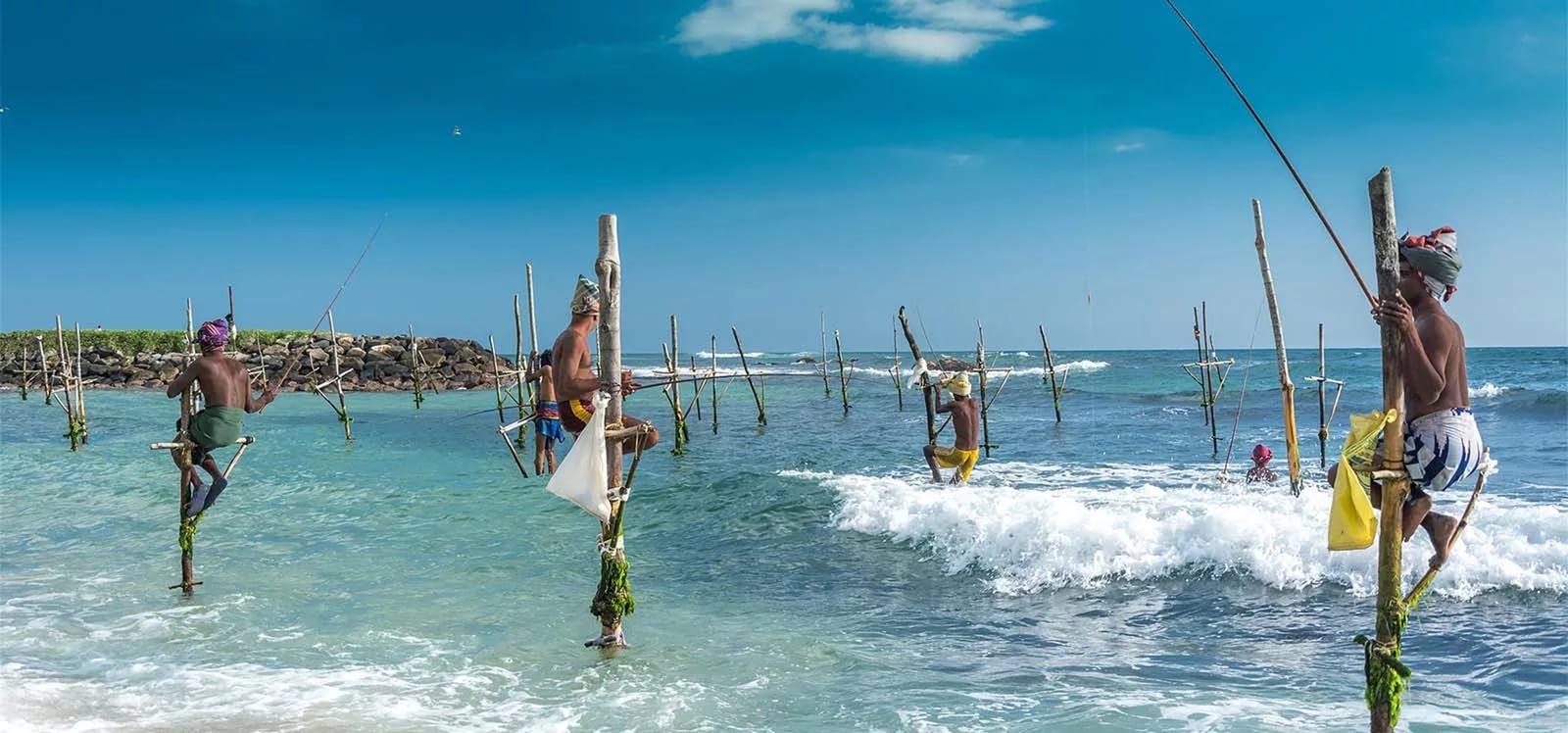 Шри Ланка рыбаки