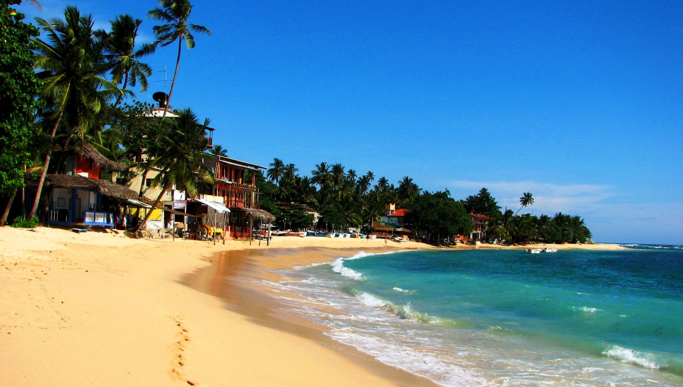 Пляж Унаватуна Шри
