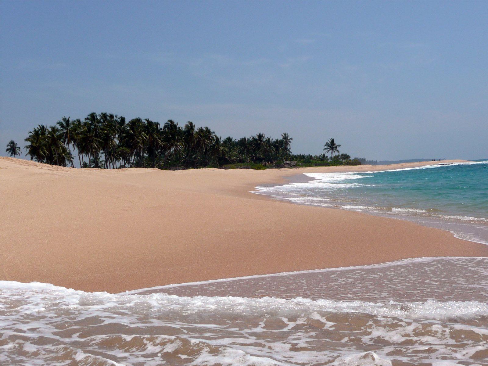 Велигама пляж