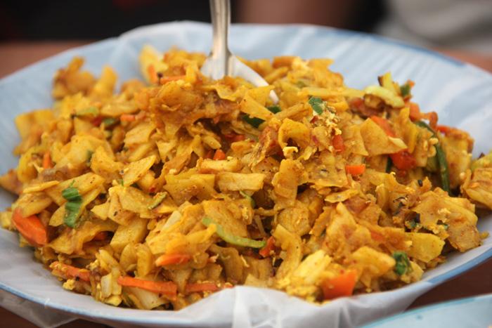 Блюдо Котти Шри Ланка