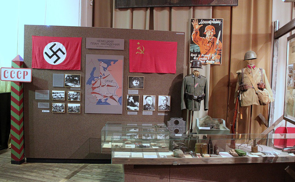 Музей блокады выставка Питер