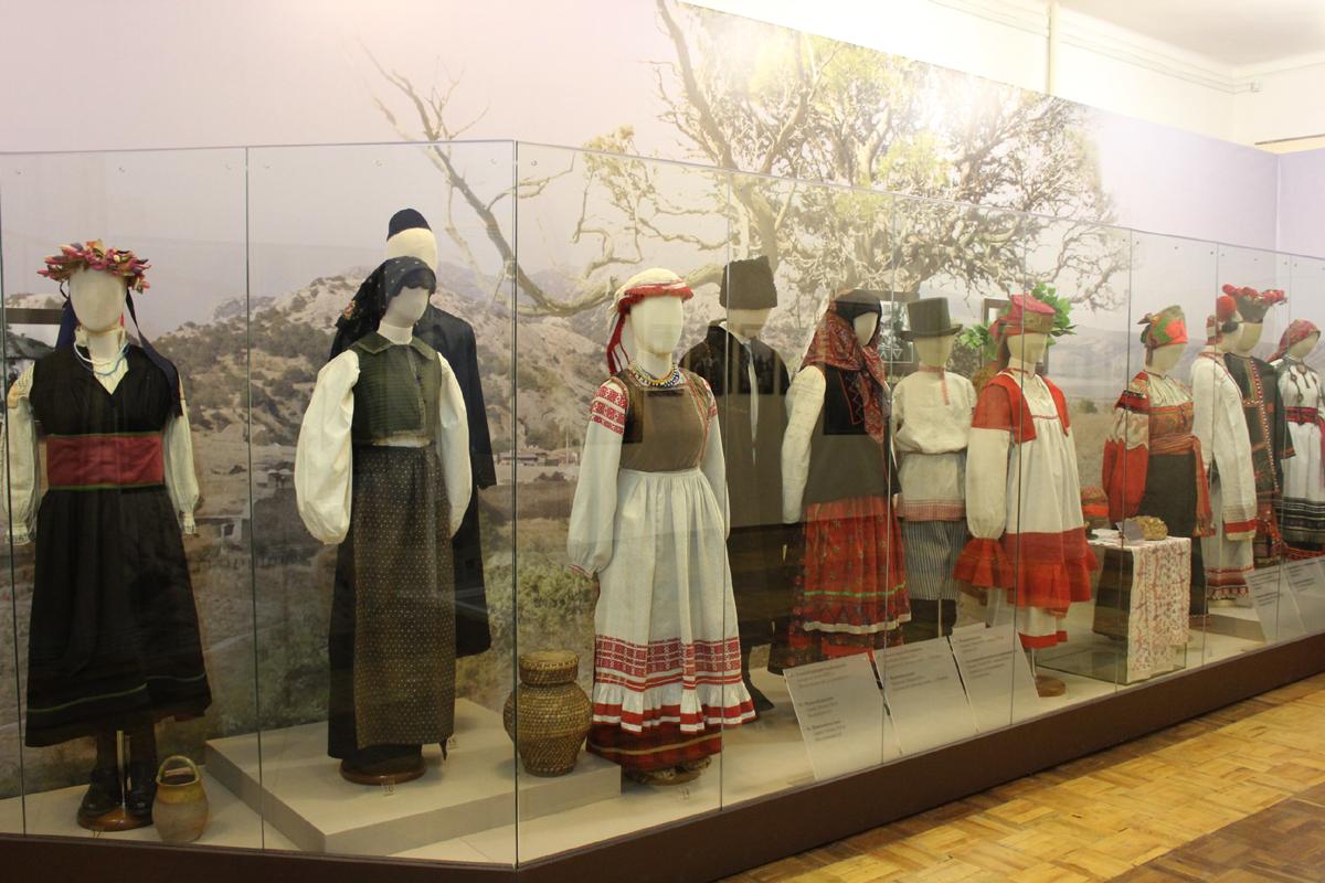 Этнографический музей выставка