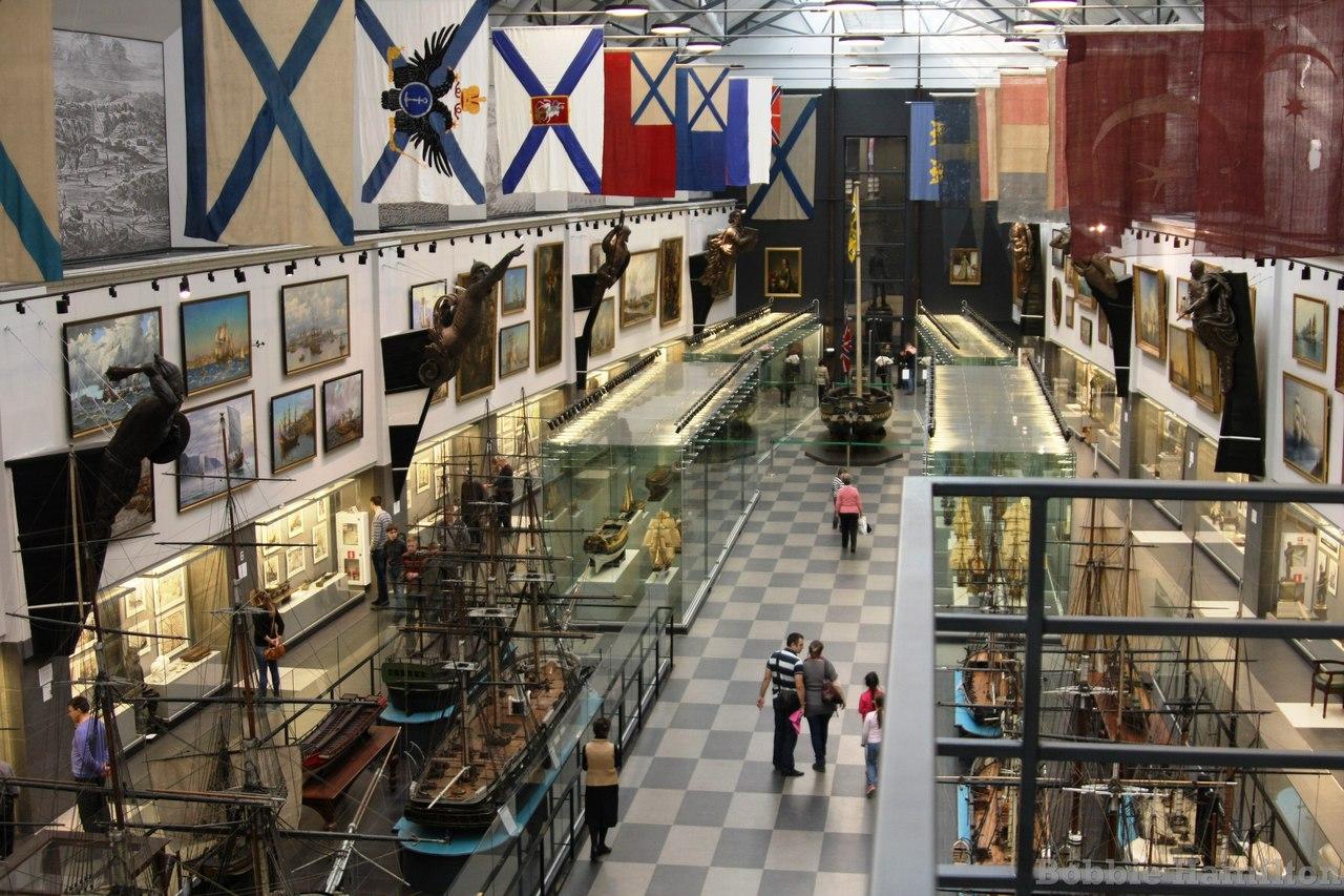 Морской музей в Санкт-Петербурге