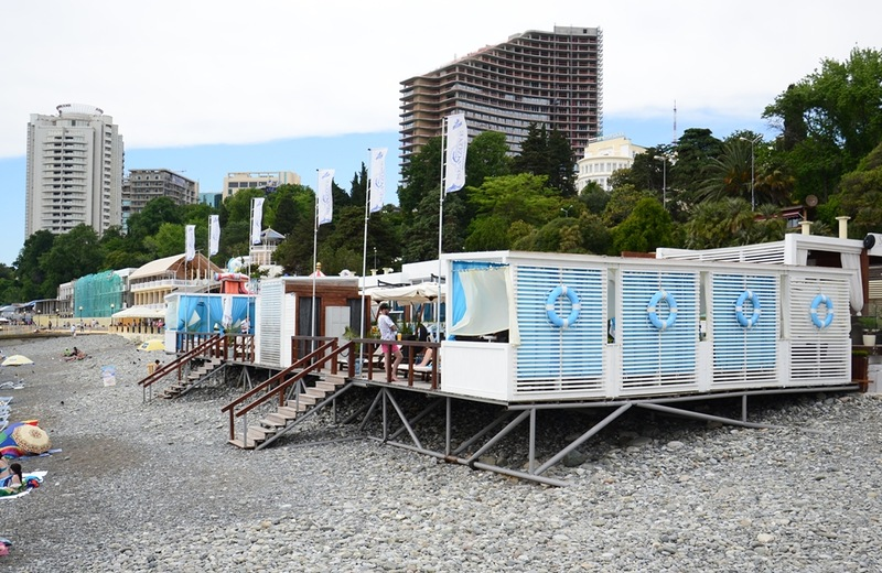 "Пляж комплекса ""Sea Zone"""