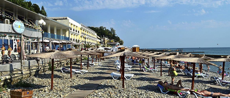 лучшие пляжи сочи