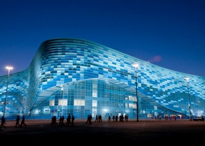 Дворец Зимнего спорта «Айсберг» в Сочи