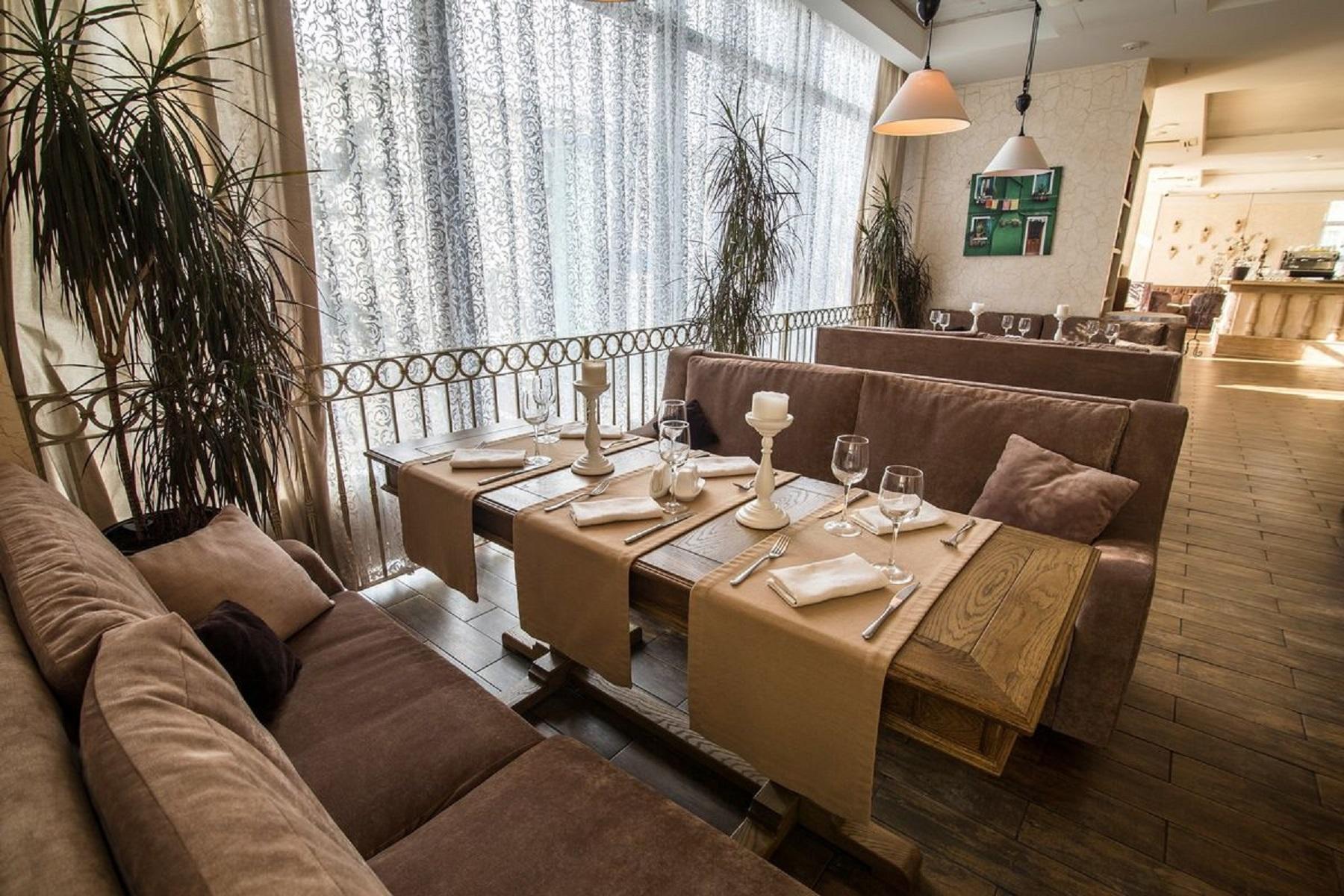 Роскошный ресторан Променад Сочи