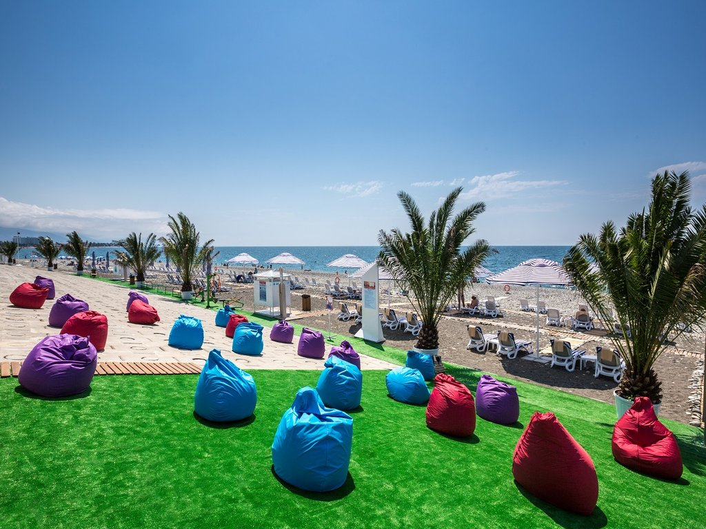 Рэдиссон Блю Курорт пляж