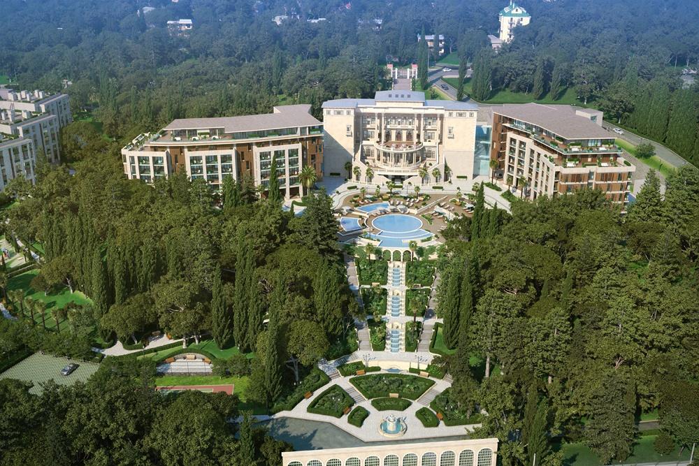 Swissоtel Resort Камелия с высоты