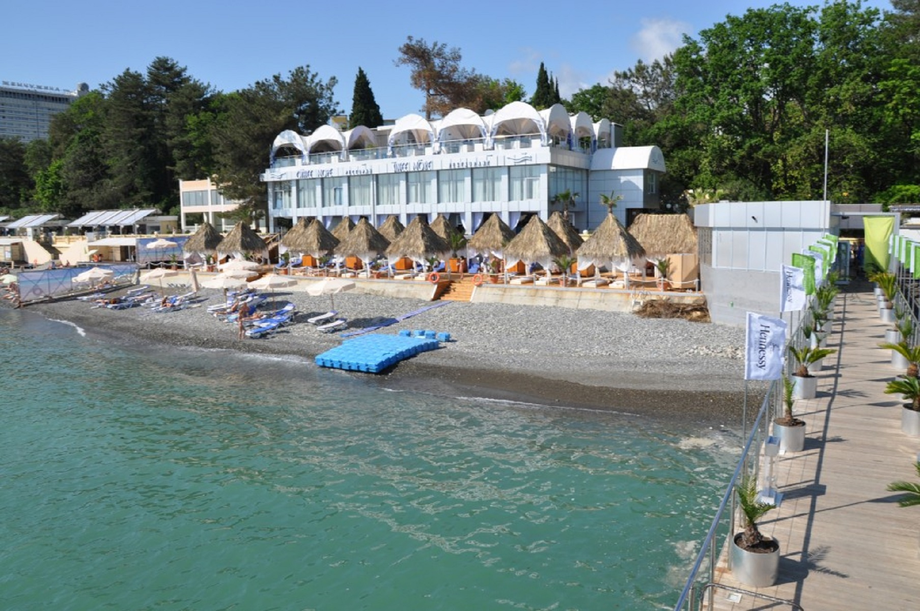ресторан Синее море Сочи