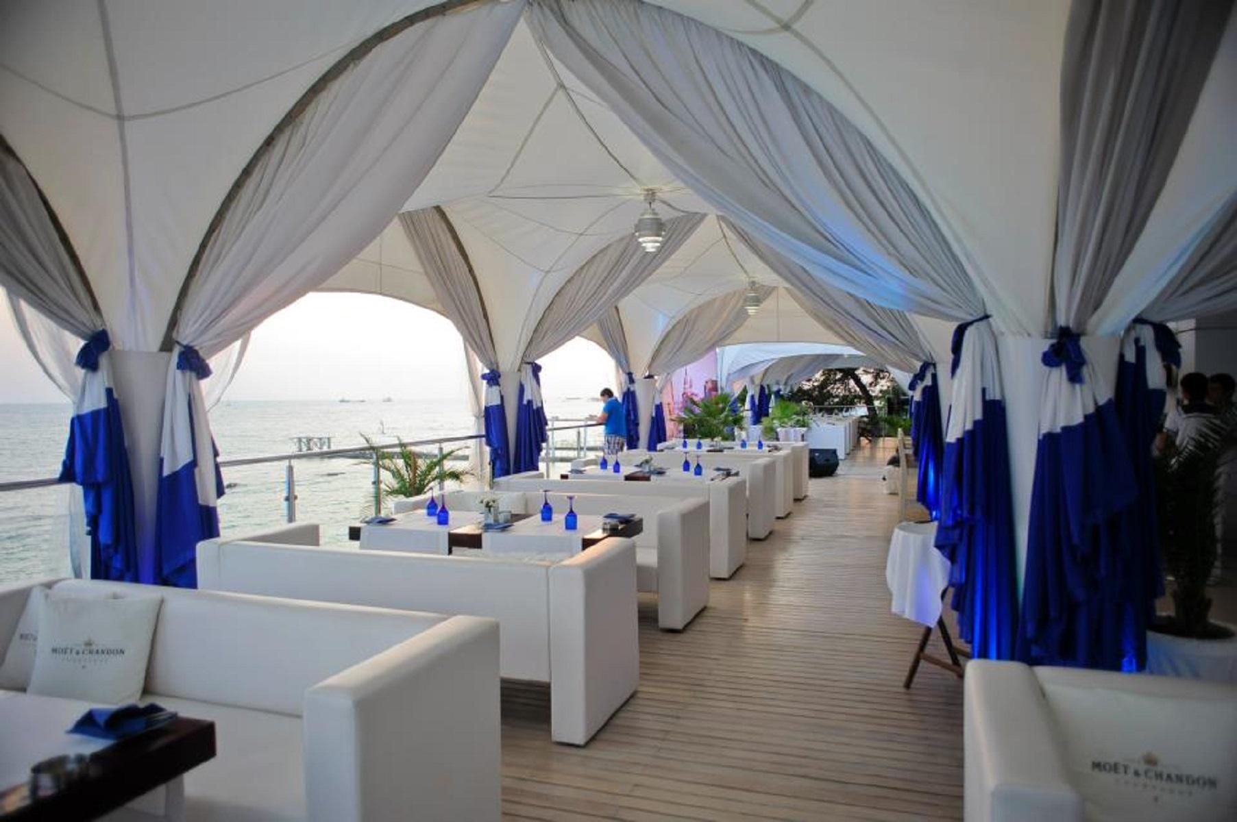 Синее море ресторан