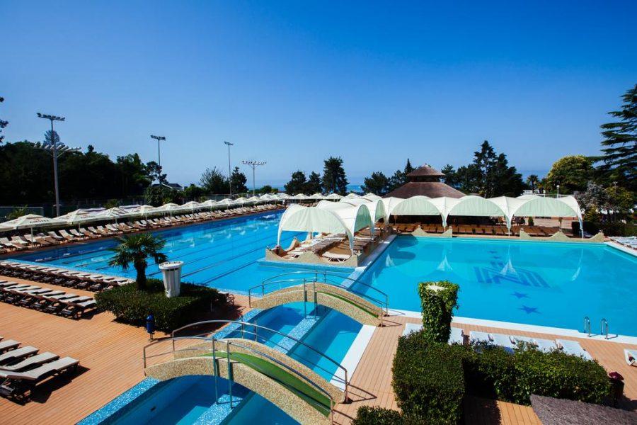 Гранд отель Жемчужина бассейн