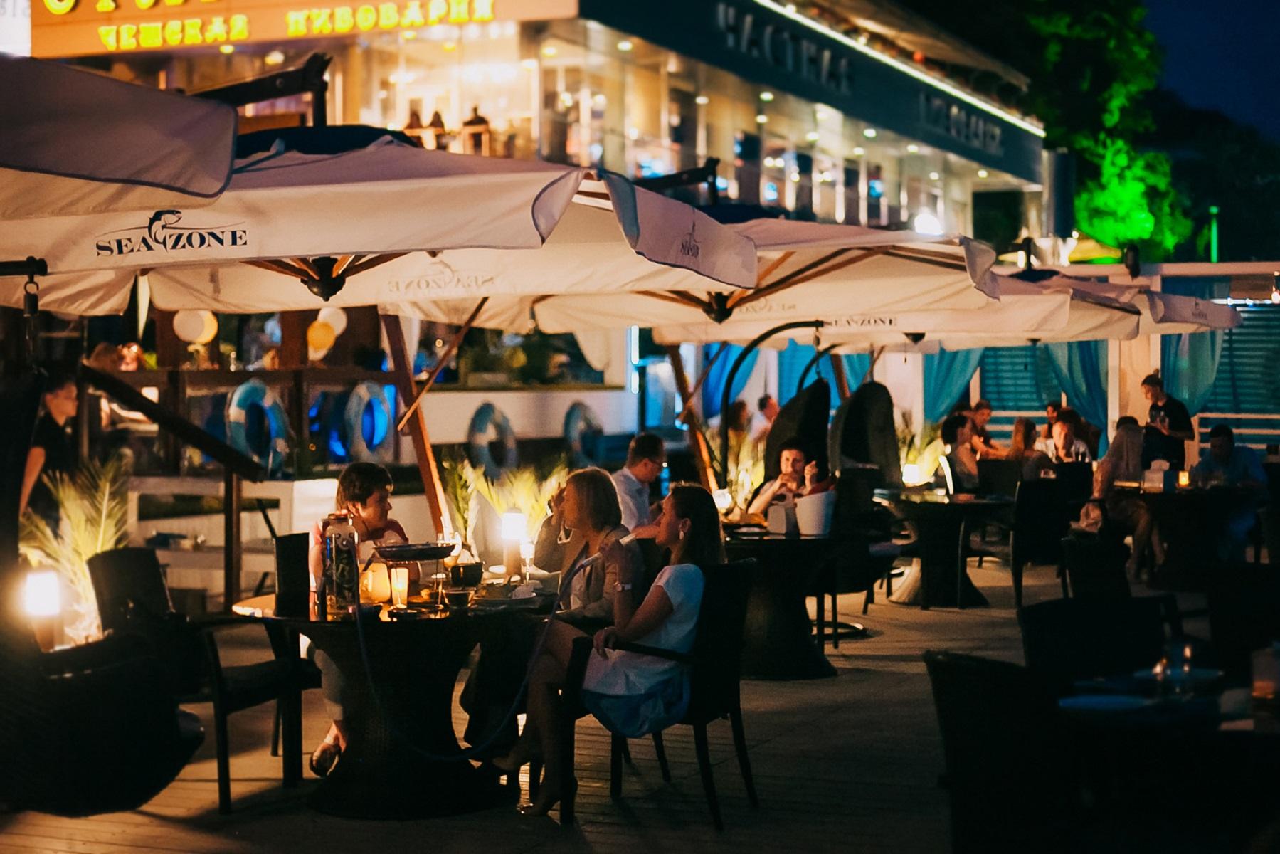 Ресторан Seazone у моря