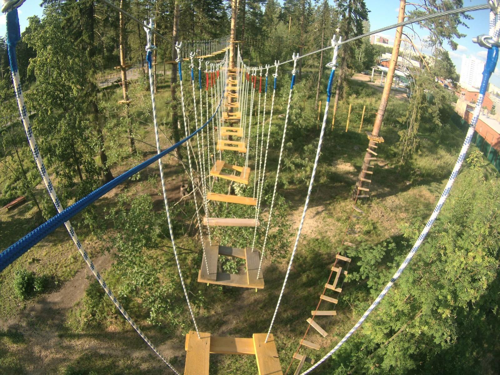 Веревочный парк Маугли