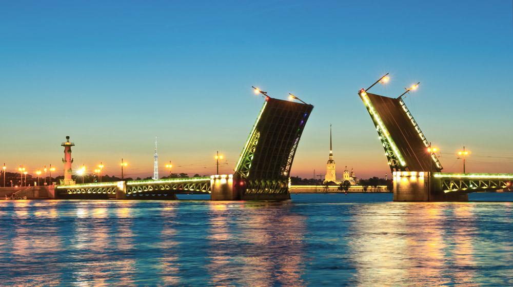 Развод мостов СПБ
