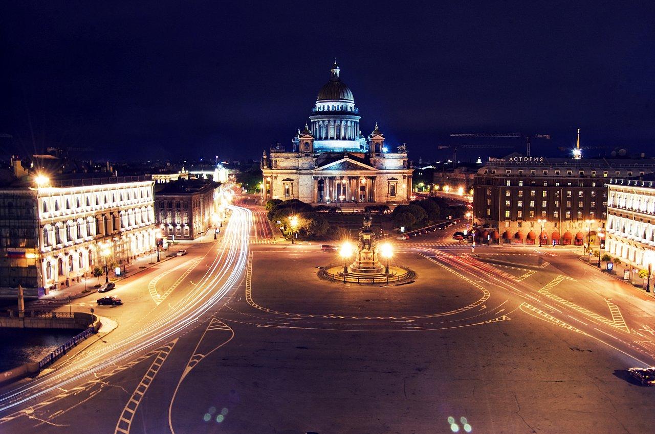 ждет специальная санкт петербург ночью фото город
