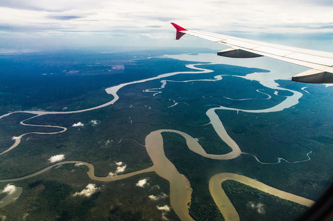 Алмазная река острова Борнео