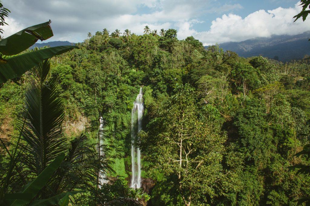 Самый большой водопад Бали