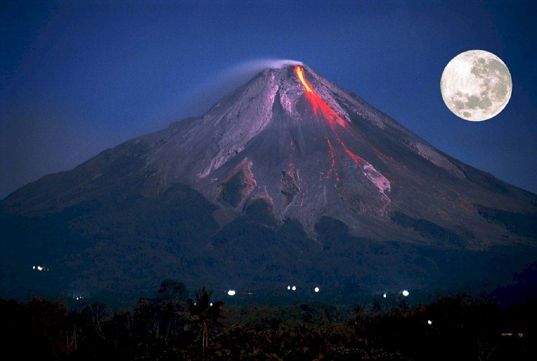 Удивительный вулкан Мерапи