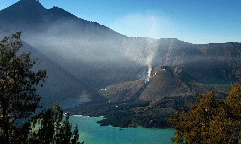 Удивительный вулкан