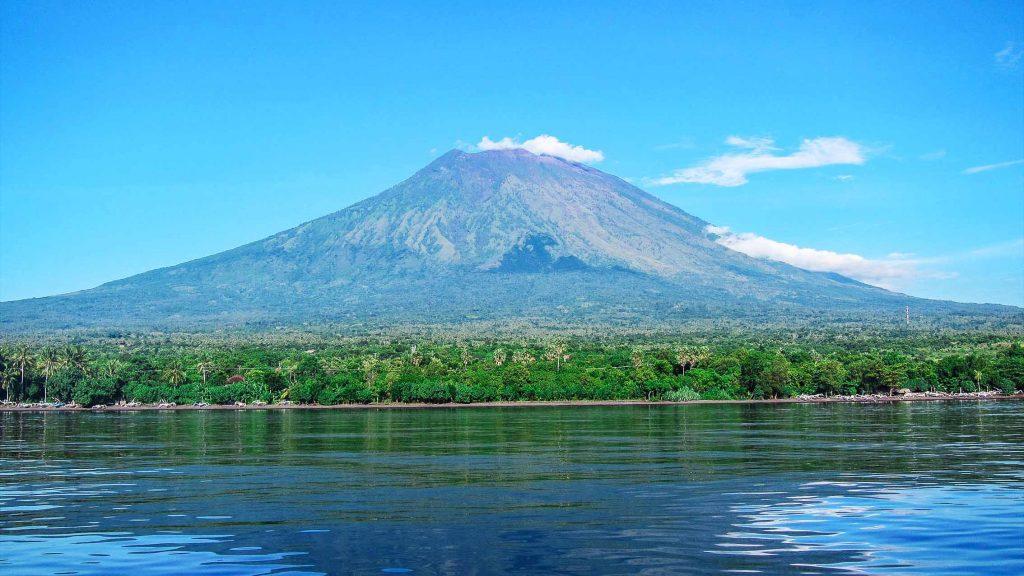 Прекрасный вулкан