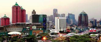 Джакарта - город