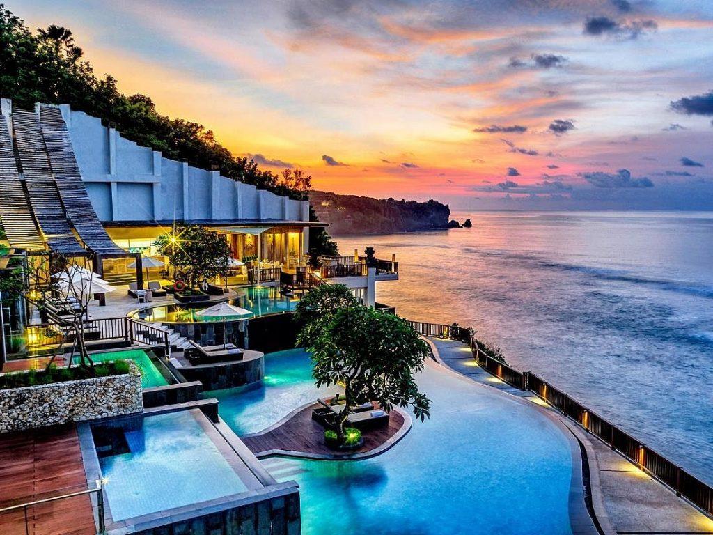Шикарный отель Бали