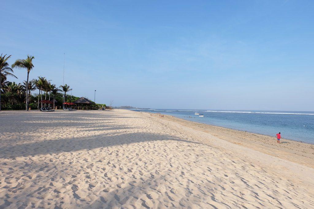 Солнечный пляж Гегер