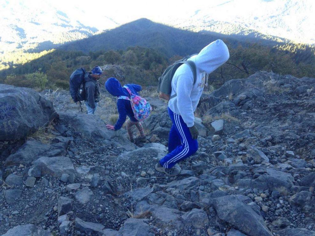 Пешком к вулкану