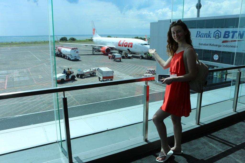 Пересадка самолета на Бали