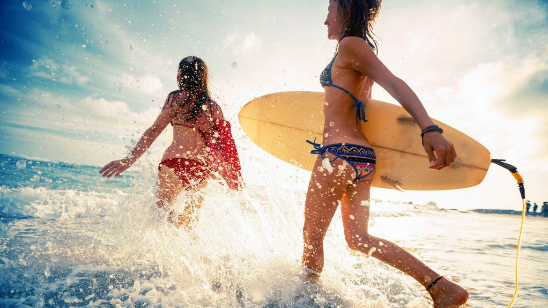 Серфинг в приятной компании