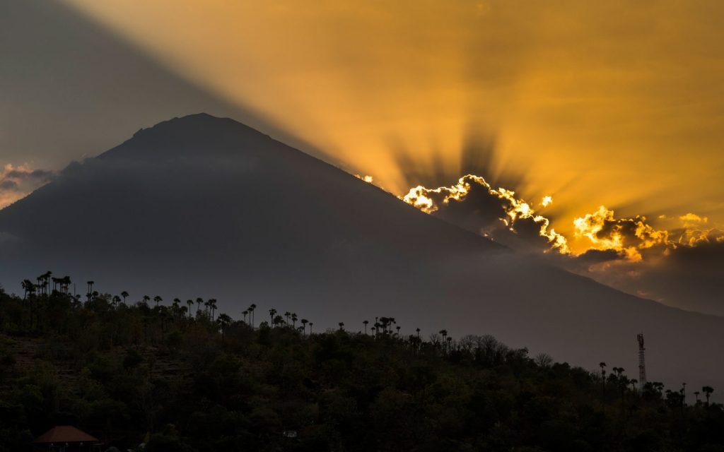 Состояния вулканов на сегодня