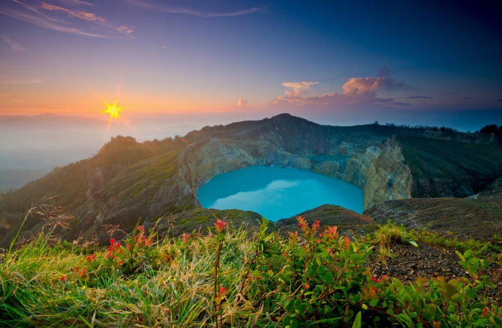 Пейзаж Флорес Индонезия