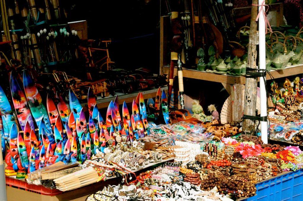 Рынок сувениров на Бали