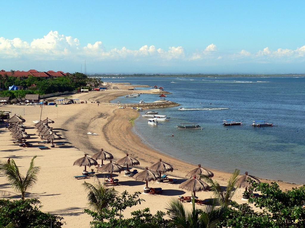 Южное побережье бали, пляж