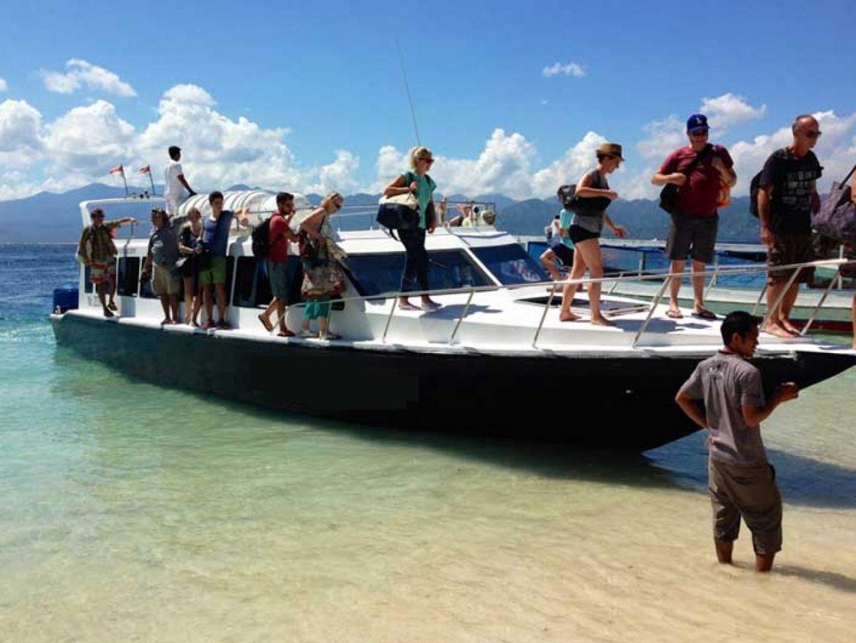 По воде с Бали