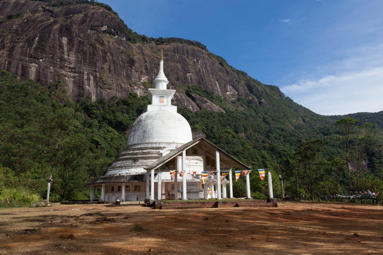 Храм на Пик Адама в Шри-Ланке