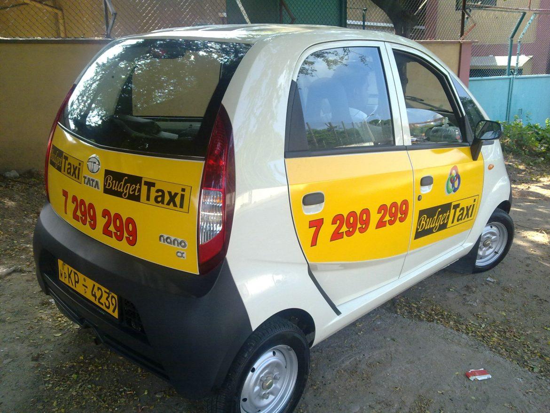 Транспорт в Коломбо - такси