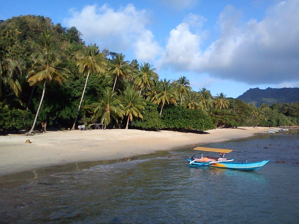 Удивительный плаж Pantai Pasir Putih