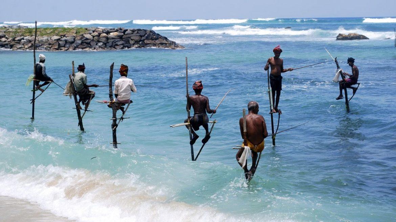Экскурсия на рыбалку на шестах