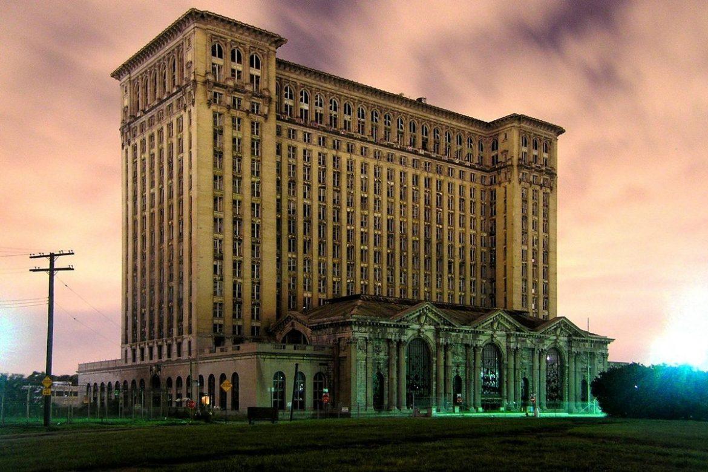 На сегодня Детройт город призрак