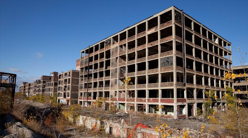 Разрушенные постройки