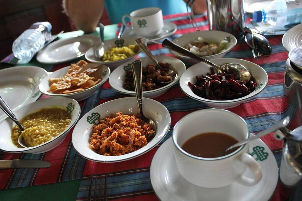 Национальные блюда Шри-Ланки
