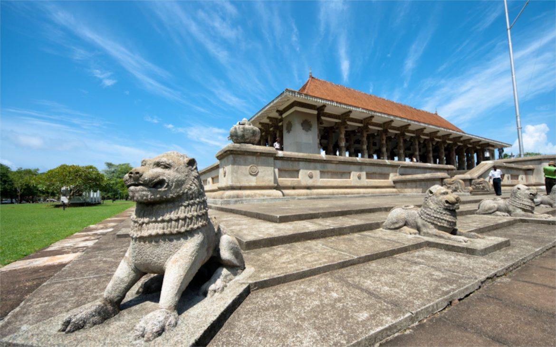 зал независимости в Коломбо